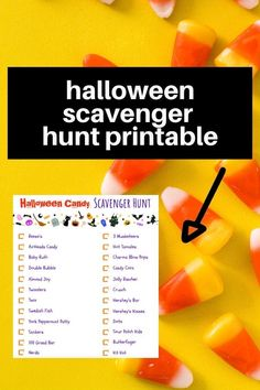 Camping Scavenger Hunts, Halloween Scavenger Hunt, Halloween Camping, Halloween Candy, Halloween 2020, We Have Candy, Bubble Candy, Airheads Candy, Halloween Arts And Crafts