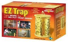 Ez Trap Fly Trap,Horse, Cattle Care, Aquatic Pet, Horse & Cattle, Pet & Supplies . $12.95