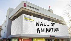 Trickfilm auf 65 x 10 m - Die Wall of Animation beim Internationalen Trickfilm-Festival am Breuninger-Haus in Stuttgart machts möglich. Dürfte eine großartige Veranstaltung werden. [Anzeige]