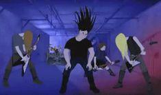Music Community Remembers Wayne Static, Dead at 48 Wayne Static, Metalocalypse, Cartoon Gifs, Glitter Graphics, Thrash Metal, Metalhead, Animation Series, Listening To Music, Rock Music