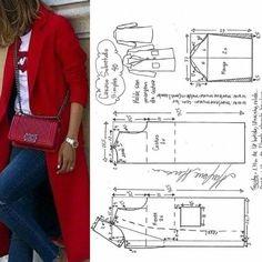 Best 12 I want these Burberrys so baaaaad – SkillOfKing. Coat Pattern Sewing, Sewing Coat, Coat Patterns, Dress Sewing Patterns, Jacket Pattern, Blouse Patterns, Clothing Patterns, Skirt Patterns, Pattern Drafting
