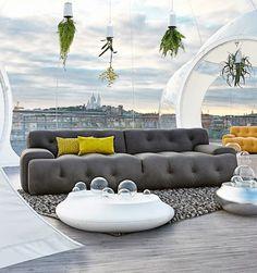 canapé 3-Seat Blogger de Roche Bobois decodesign / Décoration