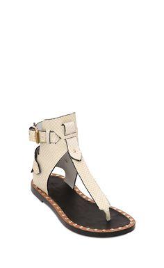 Isabel Marant Jayson Leather Gladiator Sandals - Isabel Marant