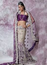 Wedding Lengha Purple - Google Search