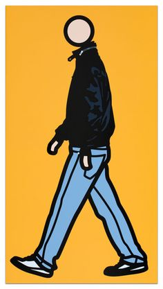 julian opie walking - Google Search