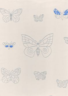 Wallpaper Apollo - a graphic design from the Butterfly Wallpaper, Room Wallpaper, New Living Room, Living Room Inspiration, Kitchen And Bath, Pattern Paper, Print Patterns, Apollo, Graphic Design