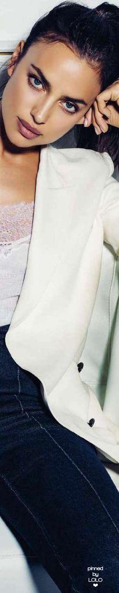 Irina Shayk for Elle Spain | LOLO❤︎