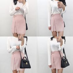 Plain Solid Tone Extended Sleeve Top   mixxmix   Shop Korean fashion casual style clothing, bag, shoes, acc and jewelry for all