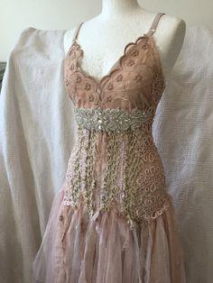 Bohemio vestido vestido de boda nupcial rosa rosa vestido de