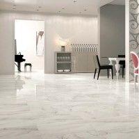 Bianco Calacatta Lappato Polished Glazed Porcelain Tile 600x600mm