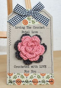 broche -- This would be a neat attachment to the Prayer Shawls I crochet to send to Dover Air Force Base.