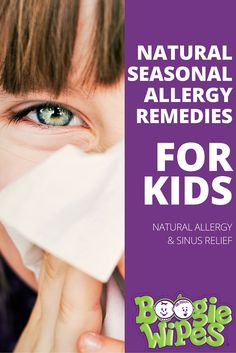 There's no cure for seasonal allergies, but there are several natural seasonal allergy remedies for kids that will help you find relief during allergy season. Follow these simple steps to help your kids find relief from sinus and allergy symptoms.