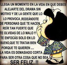 Las verdades de Mafalda.