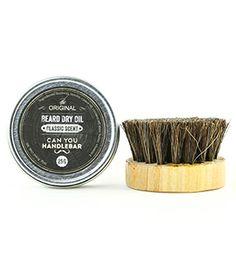 Can You Handlebar | Beard Dry Oil + Brush