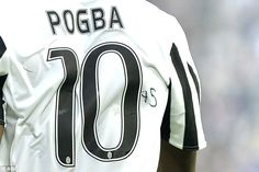 Juventus midfielder Paul Pogba scribbled '+5' on his No 10 jersey for Sunday's match again...