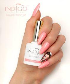Nail Lab, Indigo Nails, Vernis Semi Permanent, Gel Nail Polish, Nail Arts, Nails Inspiration, Beauty Nails, Fun Nails, Nail Colors