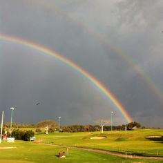 Rainbow at Gaash GlfClb
