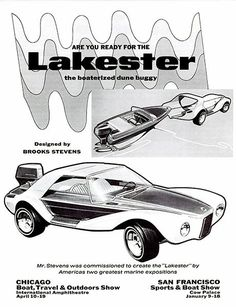 Evinrude Rooney Lakester — Boat slipped into car body You back this dune buggy down to the water's edge and suddently it gives birth to a fiberglass Volkswagen 181, Vw Scirocco, Sport Boats, Boat Slip, Car Manufacturers, Concept Cars, Custom Cars, Dream Cars, Classic Cars