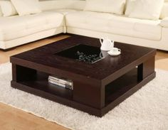 Amazing Modern Wooden Center Table Designs For Living Room