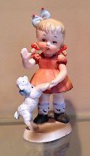 """Vintage Lefton Nursery Rhyme """"Mary's Lamb"""" SP/2 Figurine"""