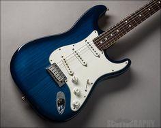 Fender Strat Plus, Blue Burst see more guitars at Lauzon Music, www.lauzonmusic.com all photography by Scott McGuigan, www.scottography.com #405