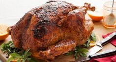 Sage Rubbed Turkey with Apricot Glaze: Make a spice blend with rubbed sage, onion powder, paprika and nutmeg garlic powder to coat the outside of the turkey. Then brush on a delicious apricot glaze to add another layer of flavor to the centerpiece of the holiday dinner.