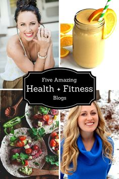 ice cream + french fries: Five Amazing Health + Fitness Blogs