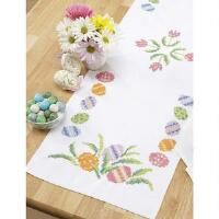 Herrschners® Easter Table Runner Stamped Cross-Stitch