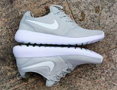 Laufschuhe 2017 Nike roshe two running shose light grey white UK Trainer