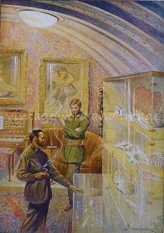 1936 Jules Verne Twenty Thousand Leagues by VintageWordandImage