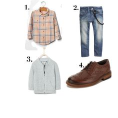 Boys Look by luisafisher on Polyvore featuring Zara