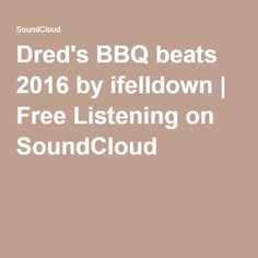 Dred's BBQ beats 2016 by ifelldown | Free Listening on SoundCloud  #djmix #freestyle #Dance #skatingjams #johnnyO #stevieB #tiana #debbiedeb #trinere #rollerskating