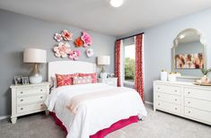 Bedroom Designs For Couples, Girl Bedroom Designs, Girls Bedroom, Beautiful Bedroom Designs, Beautiful Bedrooms, Latest Bedroom Design, Bedroom Pictures, White Bedroom, Cool Rooms