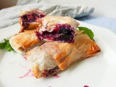 (via Balsamic Blueberry Phyllo Rolls Recipe)   #healthy #vegetarian #vegan #recipes Find more healthy recipes @ http://standouthealth.com