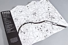 Paris City Guide Map - Free with Each Order