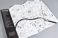 Map Design, Book Design, Travel Design, Travel Book Layout, Campus Map, Graphic Design Brochure, Paris City, Map Vector, Minimal Design
