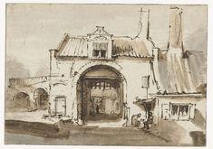 Stadspoort, Rembrandt Harmensz. van Rijn, 1640