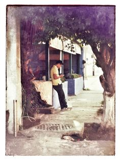 Guy on the street