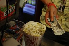 A Drive-In Movie Theater As Consumer Confidence Falls