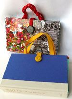 recycled book purses