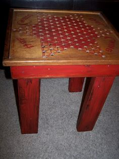 Chinese Checker Table, DIY? I would love to try to make this