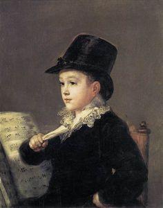 Portrait of Mariano Goya - Francisco Goya