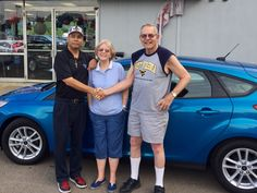 Doc Patterson & the rest of the Turnpike Ford family wish to thank Mr. & Mrs. Kirk for their business 😉👍