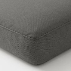 FRÖSÖN Cover for seat pad, outdoor dark gray, 24 Separate covers makes it easy to refresh your outdoor furniture when you like. These are made of recycled PET bottles and dyed in a more sustainable way, which also makes the color last longer in the sun. Ikea, Foam Seat Pads, Foam Packaging, Outdoor Seat Cushions, Chair Cushions, Recycling Facility, Pet Bottle, Cushion Covers, Bag Storage
