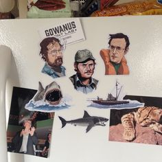 JAWS Magnet Set by CastleMcQuade on Etsy https://www.etsy.com/listing/220993953/jaws-magnet-set