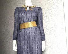 Halston Vintage Classic Skirt Set | Etsy Dress Set, Skirt Set, Halston Vintage, Classic Skirts, Hand Wrap, Bucket Bag, Trending Outfits, Blouse, Sweaters
