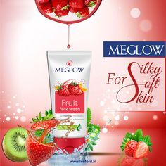 Use Meglow Fruit face wash for Smooth, Soft & Silky Skin. . . . #skincare #healthyskin #beautifulskin #meglowskincare #meglow #loveyourskin #bebeautiful #beautifulyou #winters #winterskin #stayprotected #staynourished