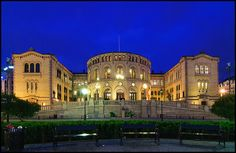 Parliament of Norway revisited   Flickr - Photo Sharing!