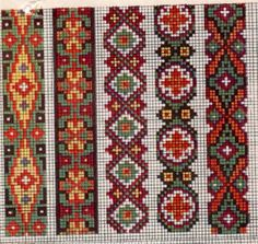 Cross Stitch Borders, Cross Stitch Rose, Cross Stitch Charts, Cross Stitch Designs, Cross Stitch Patterns, Folk Embroidery, Beaded Embroidery, Cross Stitch Embroidery, Embroidery Patterns
