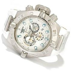 Invicta 10161 Men's Subaqua Noma IV Swiss Made Quartz Chronograph Leather Str... Invicta. $328.46. Stainless steel case with a genuine leather strap. Water resistant at 500 meters / 1650 feet. Strap: Genuine Leather. Save 87% Off!